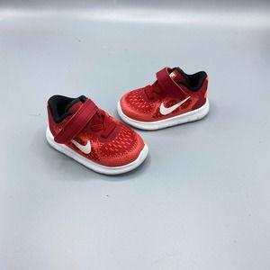 Nike Baby Free Run Red 3 Children's